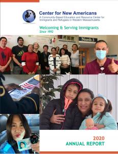 Cover of 2021 CNAM Annual Report